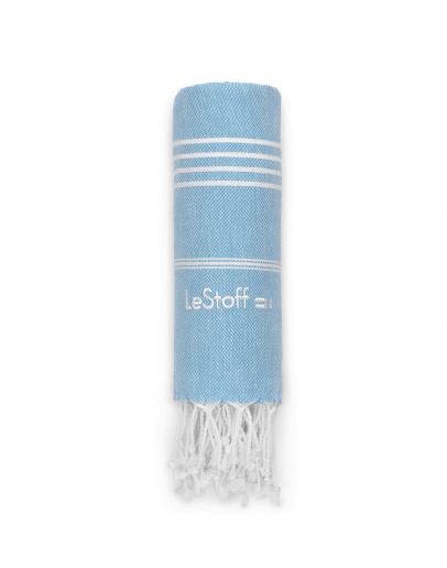Bio-Hamamtuch Light Blue