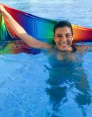 Bio-Hamamtuch Rainbow