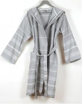 Bademantel Grey