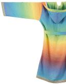 Bio-Bademantel Rainbow
